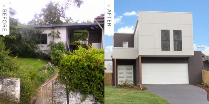OJ Pippin Homes Before & After